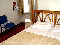Double room at Hotel Olympia, London