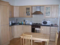 A Typical Modern Kitchen at Access Apartments Earls Court